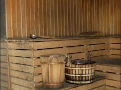 Bath at the dacha.