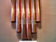 Copper thick-walled water pipes