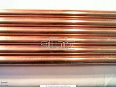 Tubes are copper thin-walled