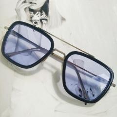Солнцезащитные очки Тони Старка Синий с черным