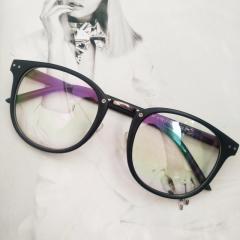 Имиджевые очки в тонкой оправе унисекс Черный