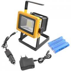 Аккумуляторный переносной LED прожектор Bailon,