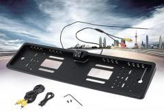 Камера заднего вида в авто номерной рамке с 4 LED