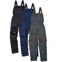 Trousers and semi-overalls working. Eurooveralls