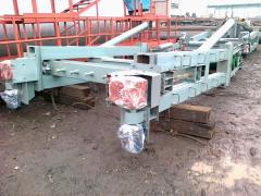 Clutch (drive) for the conveyer bel