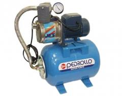 The fecal pumps PEDROLLO (for sewage, holes and
