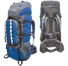Рюкзак Terra Mountain 65 цвет: синий/серый (Terra