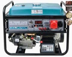 Бензиновый генератор KS 7000E-3 ATS