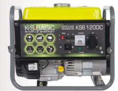 Бензиновый генератор KSB 1200C