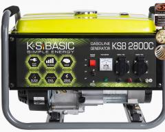 Бензиновый генератор KSB 2800C