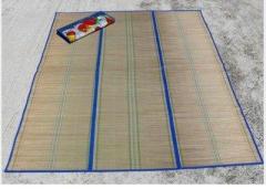 Подстилка пляжная из соломы 180 см x 150 См