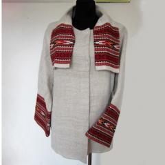 Jacket female - sardak, hempy cloth