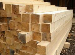 The bar is construction, timber pine
