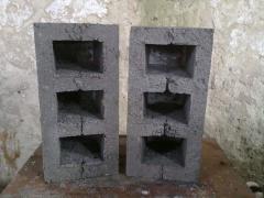 Блок будівельний 390х190х190мм.