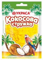 Кокосовая стружка жёлтая Украса 25 г
