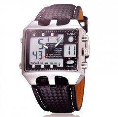 Военные цифровые водонепроницаемые мужские спортивные часы