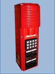 Digital explosion-proof intercom with a
