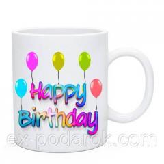 Чашка С днём рождения | Happy Birthday / Кружка З