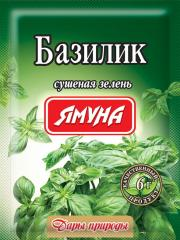 Basil of Spice of spice of the company Yamuna