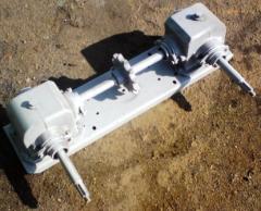 Крышка с редукторами зернометателя ЗМ-60
