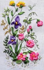 Наборы для вышивания лентами и бисером