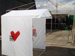 Рекламные палатки. Изготовление рекламных палаток.