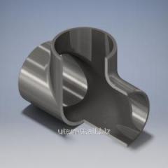 Тройники бесшовные стальные от 57 до 325 мм ДСТУ