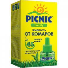 Picnic Family Жидкость от комаров 45ночей (Пикник