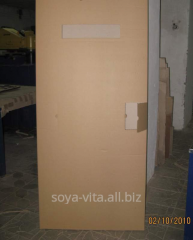 Corrugated packaging for doors