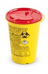 DISPO Контейнер для сбора игл и медицинских отходов емкость 0,7 л. (Из PP, круглый), шт.