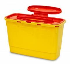 EASY Контейнер для сбора игл и медицинских отходов емкость 2,5 л. (С PP), шт.
