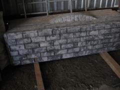 Еврозаборы Донецк, евроограждения, производство железобетонных еврозаборов, декоративные бетонные ограждения, заборы имитирующие кладку кирпича, камня.