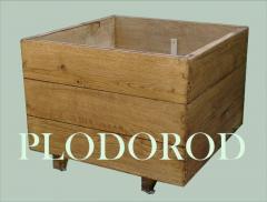 Кадка деревянная
