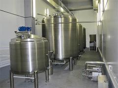 Modular mini-plants for processing of milk
