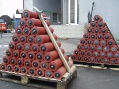 Rollers for conveyer belts. The producer of