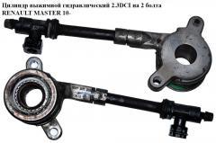 Цилиндр выжимной гидравлический 2.3DCI на 2 болта