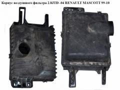 Корпус воздушного фильтра 2.8JTD RENAULT MASCOTT