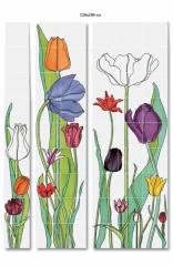 Interior panels. Decorative elements in assortment