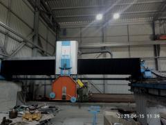 Станок для обработки гранита (окантовочный) Hensel