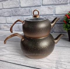 Чайник двухъярусный OMS 8210L-Bronze