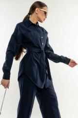 Рубашка Ри Мари Дэйо РУ 0221 42 темно-синий