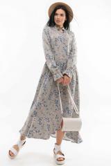 Платье Ри Мари Флорет ПЛ 2420 48 оливка