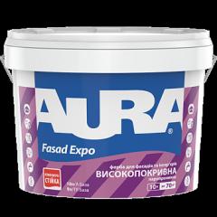 Унивенсальная краска Aura Fasad Expo 10 л.