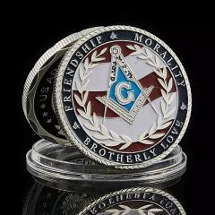 Масонская монета Богатства и Дружбы