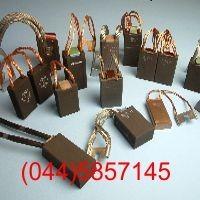 Coal brushes, graphite brushes, copper-graphite