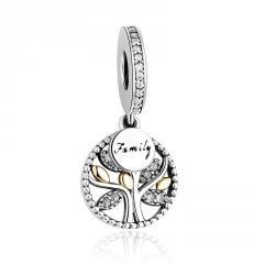 Женский серебренный кулон на браслет Пандора