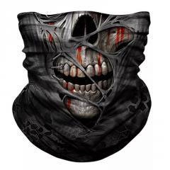 Маска защитная шарф накидка повязка на шею лица