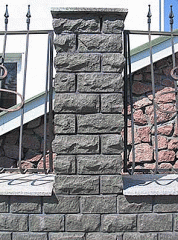 Плитка фасадно-облицовочная из гранита,скала