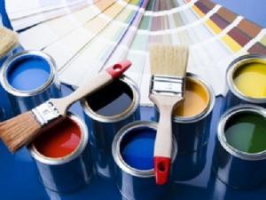 Водно-дисперсионные  краски фасадные, интерьрные,