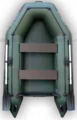 Надувная моторная лодка ПВХ Колибри КМ-260,